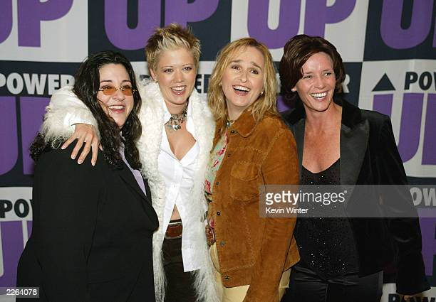 """Stacy Codikow, Tammy Lynn Michaels, Melissa Etheridge and Amy Shomer at the """"2nd Annual Power Up Premiere"""" honoring Showtime's Jerry Offsay and..."""