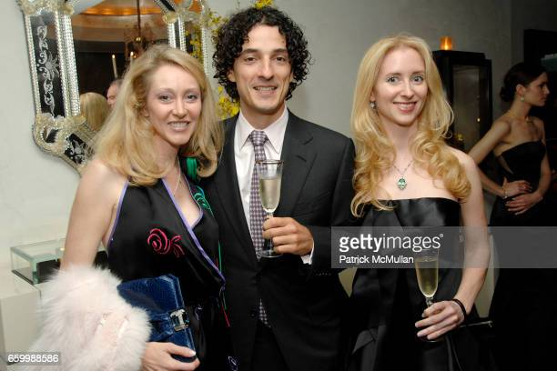 Stacy Cohen Julius Gaudio and Chandra Jessee attend SUZANNE SAPERSTEIN Hosts Private Cocktail Event at LEVIEV at Leviev on May 14 2009 in New York