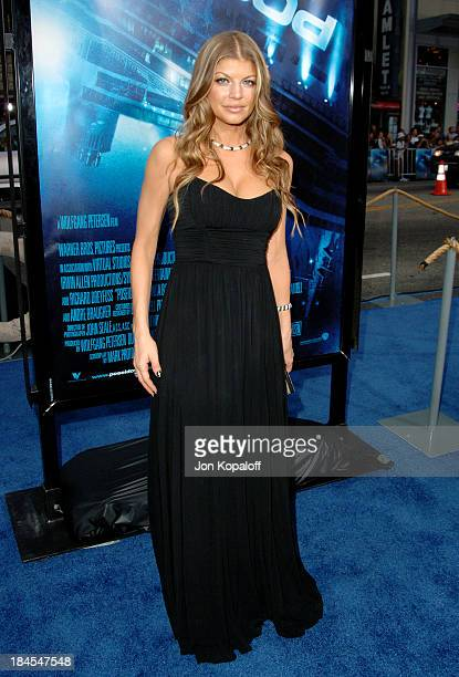 """Stacy Ferguson during """"Poseidon"""" Los Angeles Premiere - Arrivals at GraumanIs Chinese Theater in Hollywood, California, United States."""