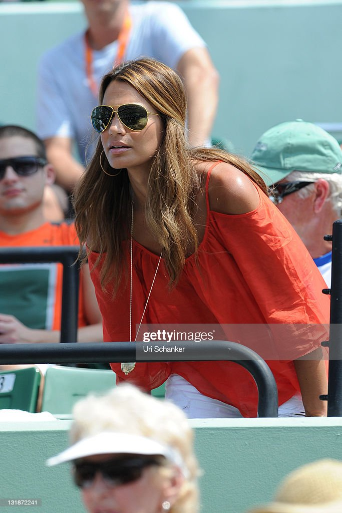 Stacy Gardner-Fish (Mardy Fish's wife) attends Sony Ericsson Open at Crandon Park Tennis Center on April 1, 2011 in Key Biscayne, Florida.