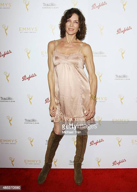 Stacy Haiduk arrives at the Television Academy hosts cocktail reception to celebrate Daytime Programming Peer Group held at Montage Beverly Hills on...