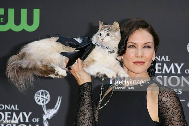 Stacy Haiduk arrives to the 36th Annual Daytime Emmy Awards held at The Orpheum Theatre on August 30 2009 in Los Angeles California