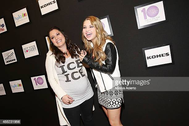 Stacy Igel and Sammi Hanratty attends the Elle Runway Collection By KOHL's during Style360 Spring 2015 at Metropolitan West on September 10 2014 in...