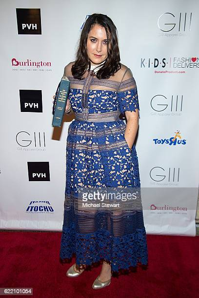 Stacy Igel attends the KIDS Fashion Delivers annual gala at American Museum of Natural History on November 9 2016 in New York City