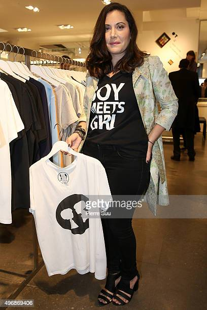 Stacy Igel Presents 'Boy Meets Girl' Collection at Colette on November 12 2015 in Paris France