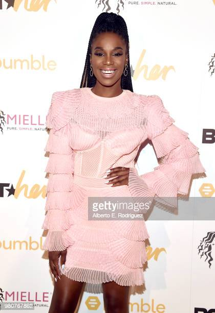 Stacy Ike attends the BETHer Awards presented by Bumble at The Conga Room at LA Live on June 21 2018 in Los Angeles California