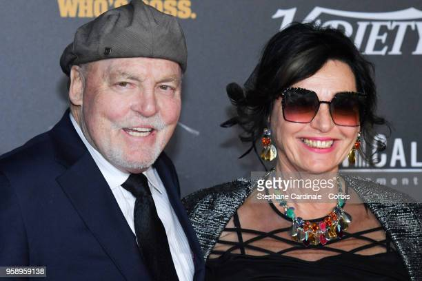 Stacy Keach and Malgosia Tomassi attend a party in Honour of John Travolta's receipt of the Inaugural Variety Cinema Icon Award during the 71st...