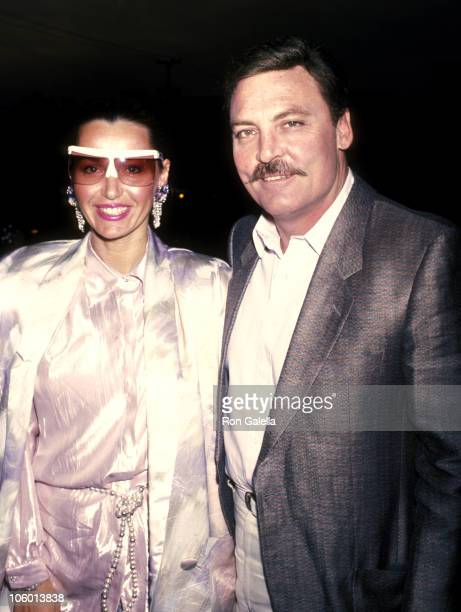 Stacy Keach and Malgosia Tomassi during Stacy Keach Sighting at Tracy Roberts Acting Studio in Los Angeles May 5 1986 at Tracy Roberts Acting Studio...