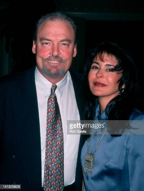 Stacy Keach and Maria Conchita Alonso at the 1st Annual Golden Satelite Awards Four Seasons Hotel Beverly Hills