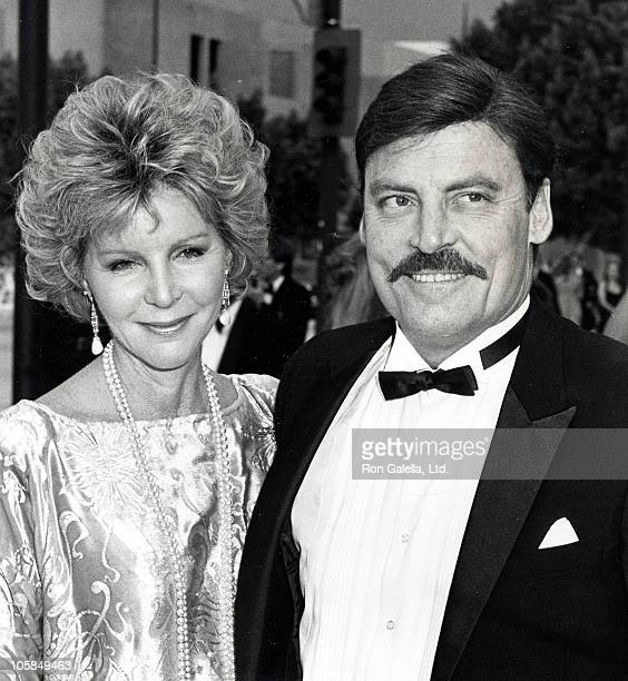 Stacy Keach and Wife Jill Donahue during 36th Annual Emmy Awards at Pasadena Civic Auditorium in Pasadena California United States