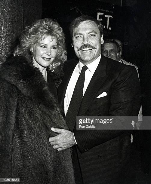 Stacy Keach and Wife Jill Donahue during That Championship Season New York Premiere December 8 1982 at Seventh Regiment Armory in New York City New...