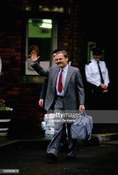 Stacy Keach coming out of jail in Reading in 1985 circa In 1984 London police arrested Keach at Heathrow Airport for carrying cocaine Keach pleaded...