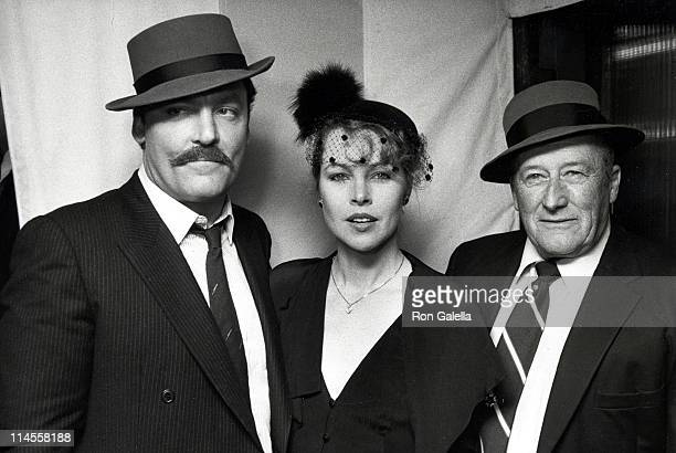 Stacy Keach Michelle Phillips and Mickey Spillane
