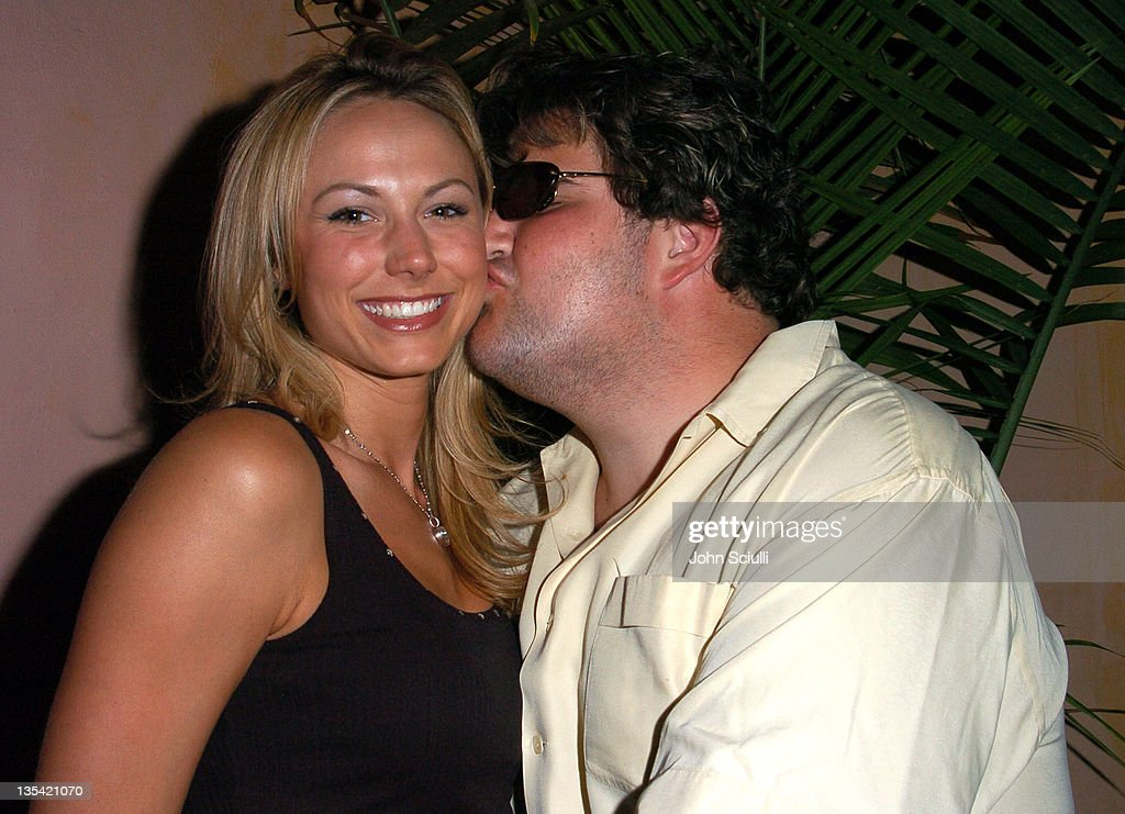 Stacy Keiblen and Jason Davis during 'Confessions of a Burning Man' - After Party at The Spider Club in Hollywood, California, United States.
