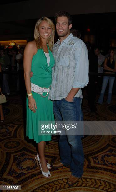 Stacy Keibler and George Stults during Pure Nightclub Showcases Beauty Hot Mixes on Memorial Weekend May 28 2006 at Caesars Palace in Las Vegas...