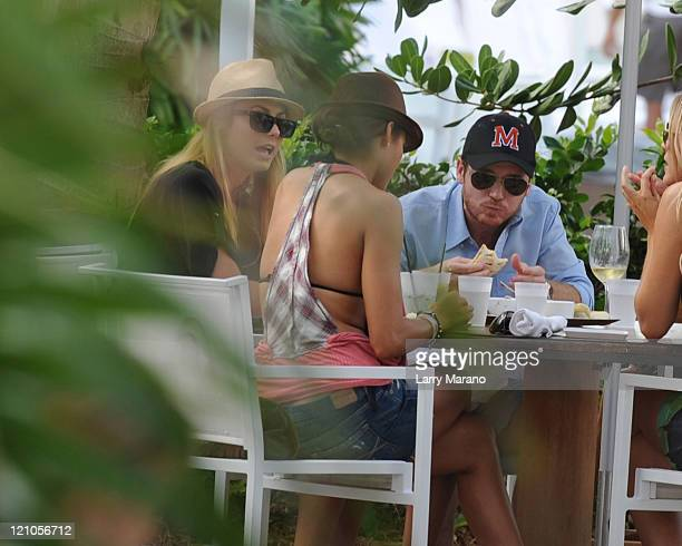 Stacy Keibler and Kevin Connolly are sighted on Miami Beach on December 31 2009 in Miami Florida