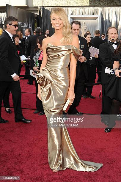 Stacy Keibler arrives at the 84th Annual Academy Awards held at the Hollywood Highland Center on February 26 2012 in Hollywood California
