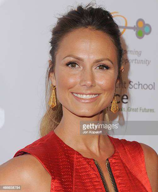Stacy Keibler arrives at The Independent School Alliance For Minority Affairs Impact Awards Dinner at Four Seasons Beverly Wilshire Hotel Los Angeles...