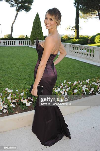 Stacy Keibler attends amfAR's 20th Annual Cinema Against AIDS during The 66th Annual Cannes Film Festival at Hotel du CapEdenRoc on May 23 2013 in...