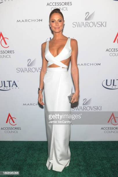 Stacy Keibler attends the 17th Annual Accessories Council ACE Awards At Cipriani 42nd Street on November 4 2013 in New York City
