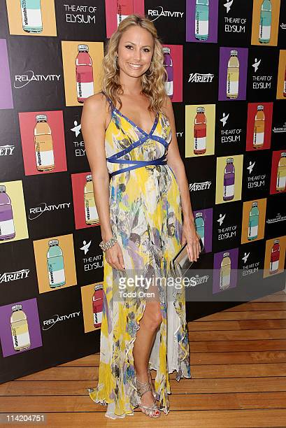 Stacy Keibler attends the Art Of Elysium 3rd Annual Paradis Event hosted by vitaminwater at Hotel Du Cap on May 15 2011 in Antibes France