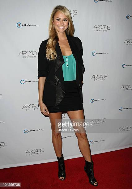Stacy Keibler attends the Autumn Party benefiting Children's Institute at The London Hotel on September 29, 2010 in West Hollywood, California.