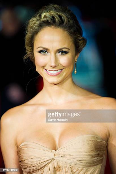 Stacy Keibler attends 'The Descendants' premiere during the 55th BFI London Film Festival at Odeon Leicester Square on October 20 2011 in London...