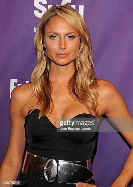 Stacy Keibler attends the EW and SyFy party during Comic-Con 2010 at Hotel Solamar on July 24, 2010 in San Diego, California.