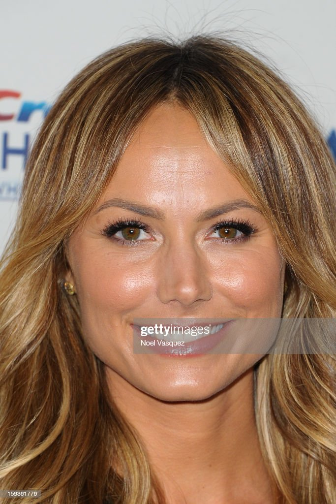 Stacy Keibler attends the 'Gold Meets Golden' event hosted at Equinox on January 12, 2013 in Los Angeles, California.