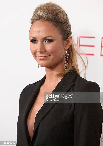 Stacy Keibler attends the launch of 'The Beauty Book For Brain Cancer' at Grauman's Chinese Theatre on November 14 2011 in Hollywood California
