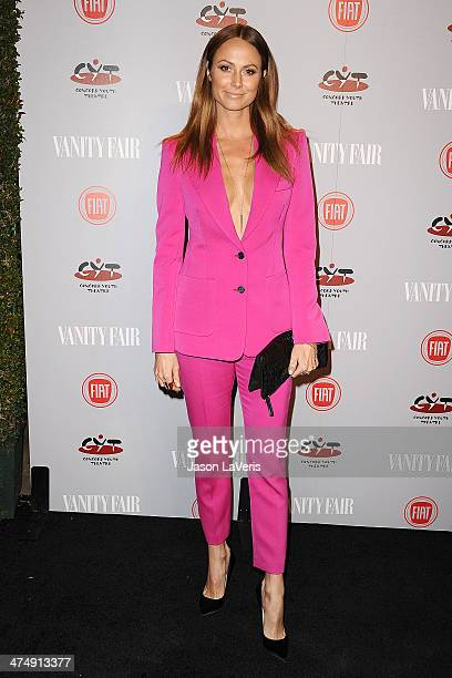 Stacy Keibler attends the Vanity Fair Campaign Young Hollywood party at No Vacancy on February 25 2014 in Los Angeles California