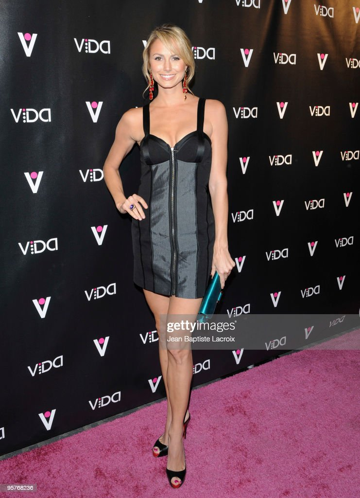 Stacy Keibler attends the Vida launch party at Voyeur on January 13, 2010 in West Hollywood, California.