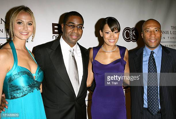 Stacy Keibler Dr Keith L Black Keisha Whitaker and Byron Allen