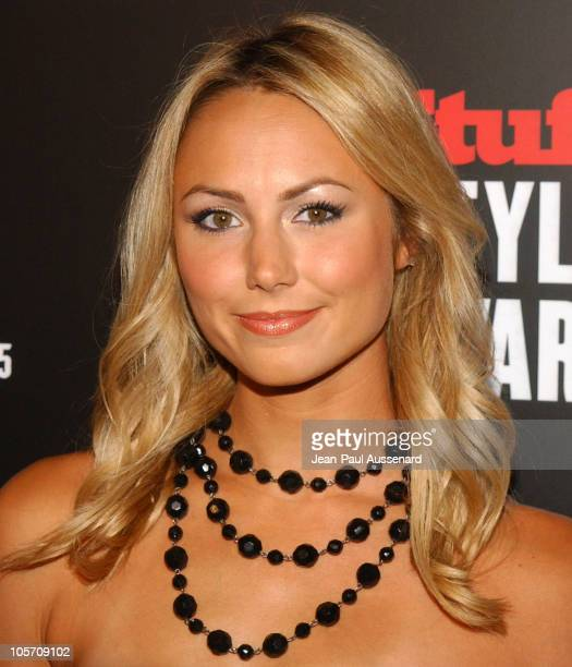 Stacy Keibler during 2005 Stuff Style Awards Arrivals at Hollywood Roosevelt Hotel in Hollywood California United States