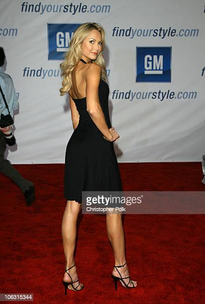 Stacy Keibler during 2006 General Motors Annual ten Celebrity Fashion Show Arrivals at 1540 Vine Street in Hollywood California United States