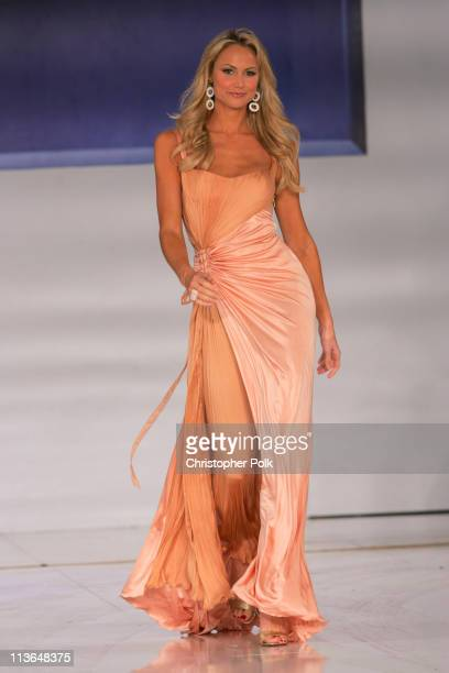 Stacy Keibler during 2006 General Motors Annual ten Celebrity Fashion Show Inside at 1540 N Vine in Hollywood California United States