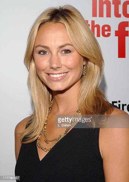 """Stacy Keibler during Chris O'Donnell and Fireman's Fund Insurance Company Host World Premiere of """"Into The Fire"""" at The Directors Guild of America in..."""