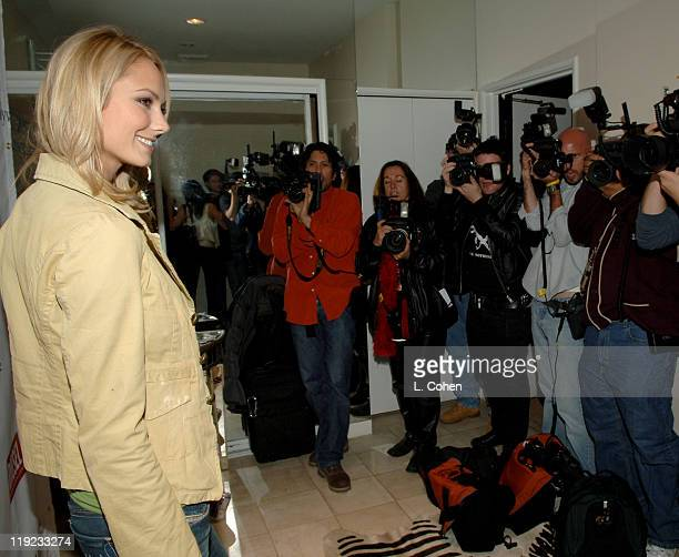 Stacy Keibler during Diesel Presents Young Hollywood Awards Countdown March 30 2006 at Liberace's Penthouse in Los Angeles California United States