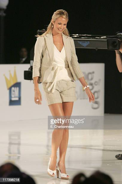 Stacy Keibler during General Motors Presents 3rd Annual GM AllCar Showdown Hosted by Shaquille O'Neal Show at Paramount Studios in Hollywood...