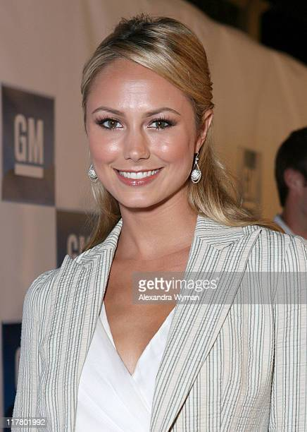 Stacy Keibler during General Motors Presents 3rd Annual GM All-Car Showdown Hosted by Shaquille O'Neal - Red Carpet at Paramount Studios in...