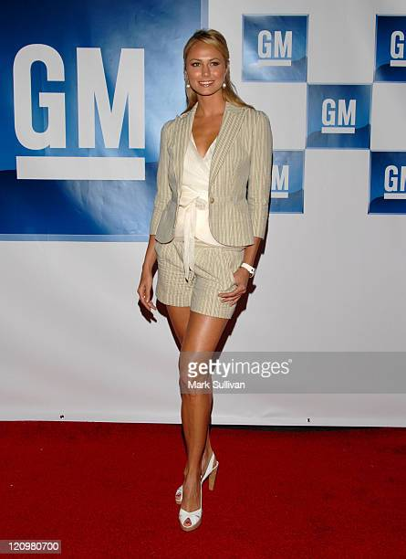 Stacy Keibler during General Motors Presents 3rd Annual GM AllCar Showdown Hosted by Shaquille O'Neal Arrivals at Paramount Pictures in Hollywood...