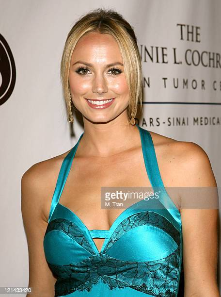 Stacy Keibler during Johnnie L. Cochran, Jr. Brain Tumor Center Opening Gala - Red Carpet at The Beverly Wilshire Hotel in Beverly Hills, California,...