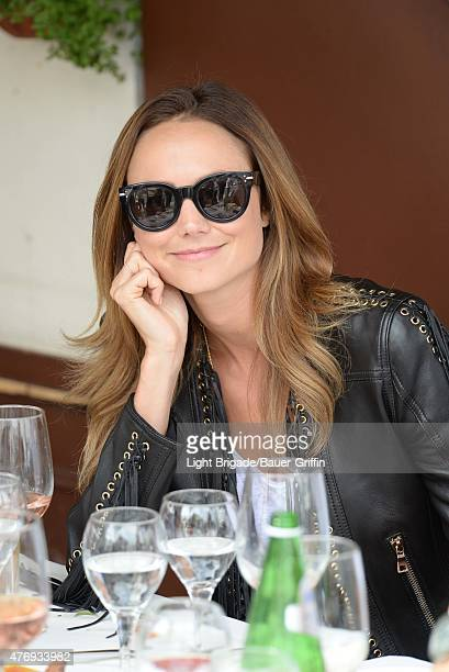 Stacy Keibler is seen in Beverly Hills Ca on June 12 2015 in Los Angeles California