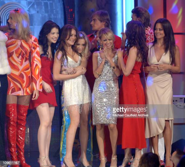 Stacy Keibler Michelle Trachtenberg Lindsay Lohan Samaire Armstrong Nicole Richie Sophia Bush and Brooke Burke wearing Tommy Hilfiger