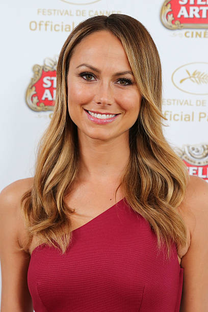 FRA: Stacy Keibler Visits The Stella Artois Suite - The 66th Annual Cannes Film Festival