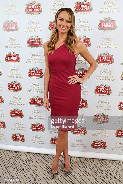Stacy Keibler visits The Stella Artois Suite during The 66th Annual Cannes Film Festival at Radisson Blu on May 22 2013 in Cannes France