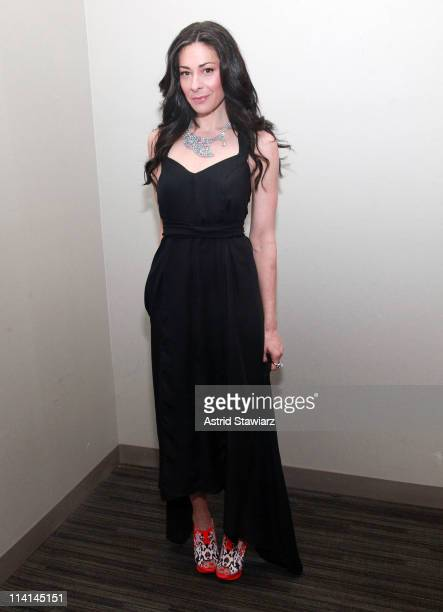 Stacy London attends the 2011 American Cancer Society Pink Black Tie Gala at Steiner Studios on May 12 2011 in New York City
