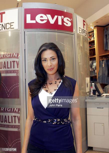 Stacy London during Levi's Fit Experience Launch at Levi's Store in New York City New York United States