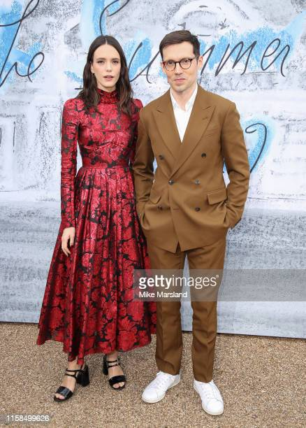 Stacy Martin and Erdem Moralioglu attends The Summer Party 2019 Presented By Serpentine Galleries And Chanel at The Serpentine Gallery on June 25...
