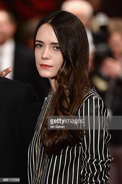 Stacy Martin attends 'Nymphomaniac Volume I ' premiere during 64th Berlinale International Film Festival at Berlinale Palast on February 9 2014 in...